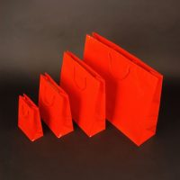 Papierová taška Modle 2 červená