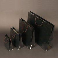 Papierová taška Modle 2 čierna