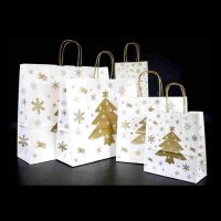 Vianočná papierová taška Vianoce